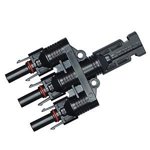 Коннектор MC4-T3 тройной 4
