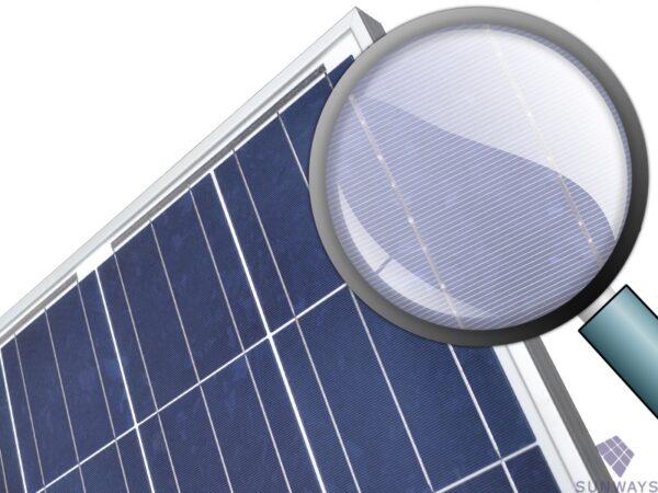 Солнечная батарея Sunways FSM 100P вид 2
