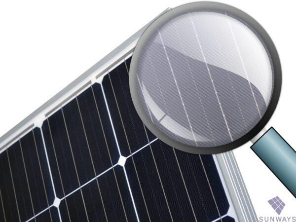 Солнечная батарея Sunways FSM 370М вид 2