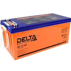 Аккумулятор Delta GEL 12-200