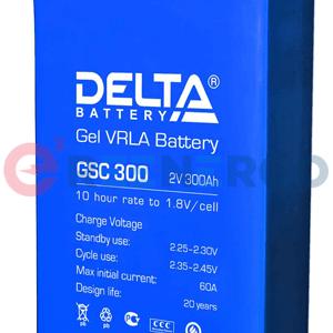 Аккумулятор Delta GSC 300
