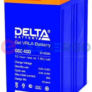 Аккумулятор Delta GSC 400