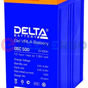 Аккумулятор Delta GSC 500