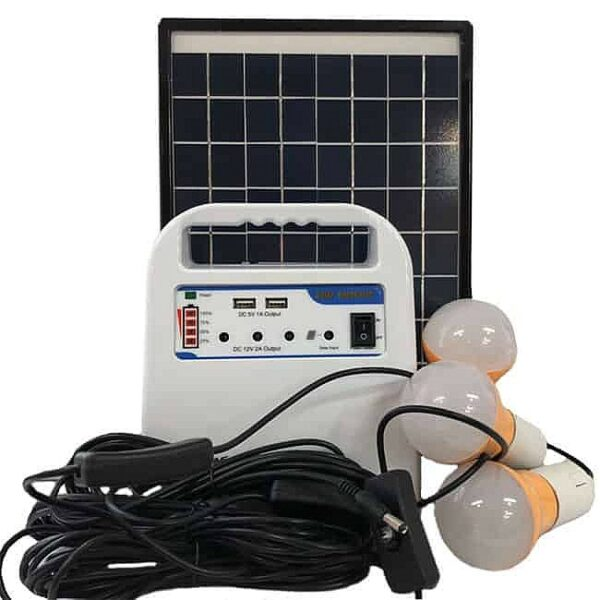 Портативный комплект освещения на солнечной батарее E-Power HT-1210W