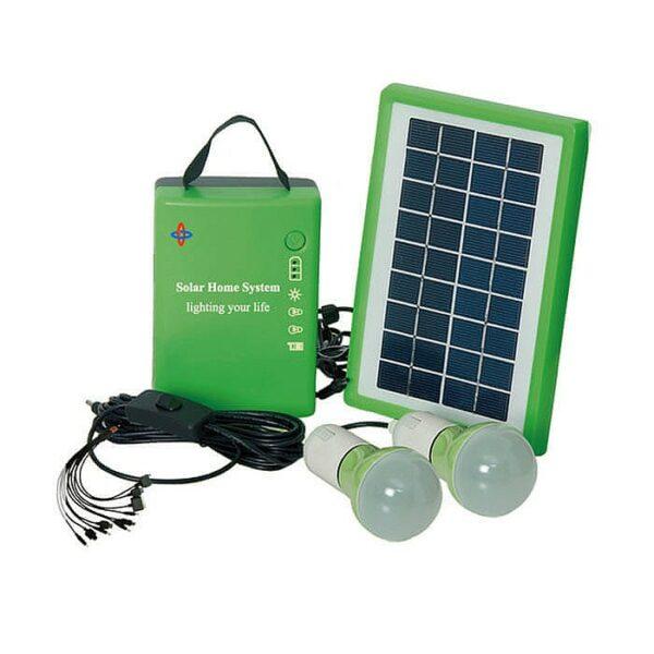 Портативный комплект освещения на солнечной батарее E-Power HT-701G