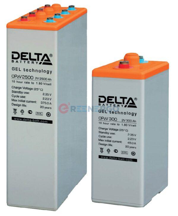 Аккумулятор Delta OPzV 500