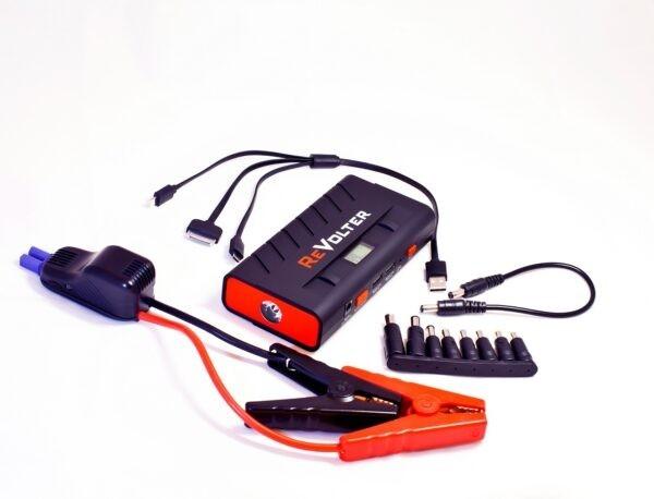Пусковое устройство ReVolter Nitro зажимы и штекеры