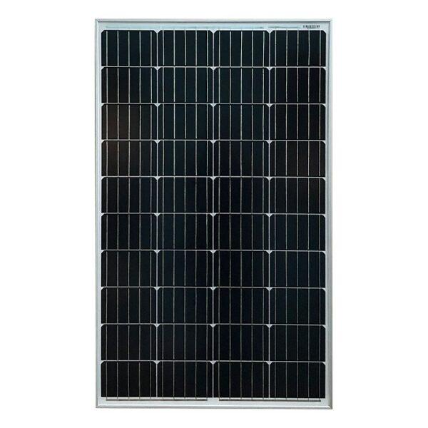 Монокристаллическая солнечная панель Sila 100Вт 5ВВ