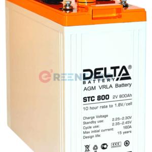 Аккумулятор Delta STC 800