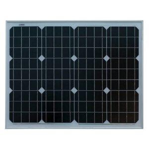 Монокристаллическая солнечная панель Sila 50 Вт ( 12В )