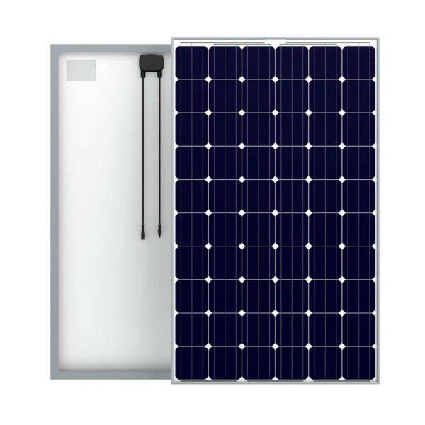 Монокристаллическая солнечная панель SILA 250Вт 24 В (обратная сторона)