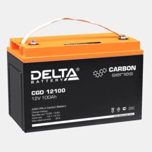 Аккумулятор карбоновые Delta CGD 100-12