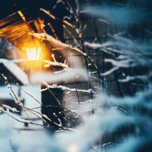 дежурное освещение зимой