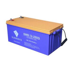 Аккумулятор SUNWAYS SWB 12-200G (12В | 200Ач) гелевый