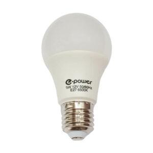 Лампа 12В 5Вт Е27