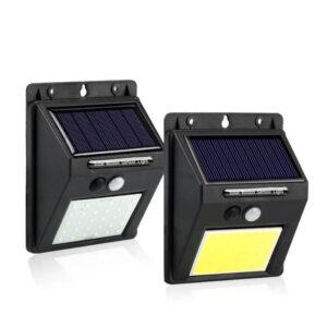Уличный светильник с солнечной батареей